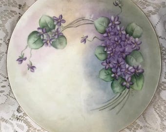 Bavarian Collector's Plate - Violet