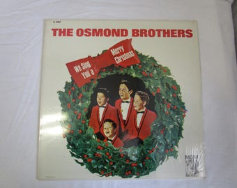 Osmond Brothers / We Sing You a Merry Christmas / Vinyl LP /MGM / E-4187(C)