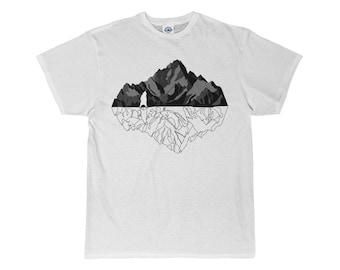 Mountains Bears Unisex Short Sleeve Tee