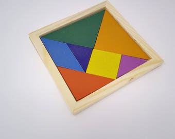 Tangram Drinks Coasters