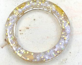 Pearls and Stars Bangle