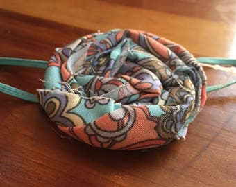 Paisley flower headband