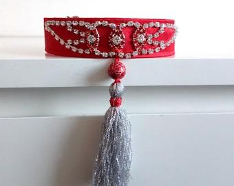 Collar martingale Taliansky chrtík, Whippet