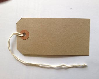 Brown Manila tags pack of 50
