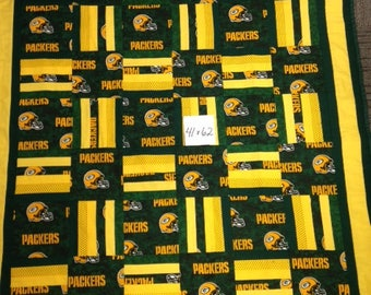 Packers Lap Quilt: Adult, baby, kid, teen, toddler
