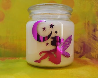 Merlin's Forest- Handmade Soy Candle