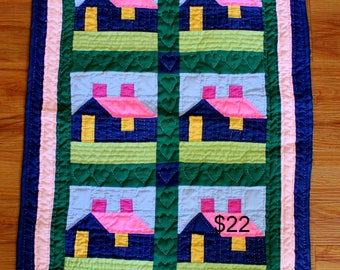 Vintage Quilted Wall Hanging