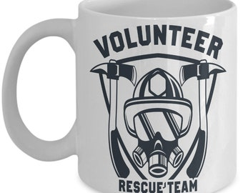 Rescue Team Coffee Mug | Personalized Gift | Personalized | Gift For Him | Daughter Gift | Volunteer State | Volunteer Gift | Gift For Her