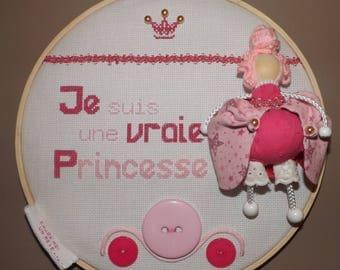 "Table child's room ""I'm a Princess"""