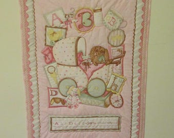 Baby Buggy Quilt / Wallhanging