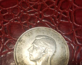 Great Britain florin two shillings 1941 George V silver