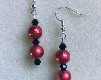 DesignsbyKiko Holly Berry Earrings