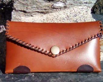 Leather cases adapted for belt.
