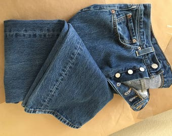 Levis button fly 501
