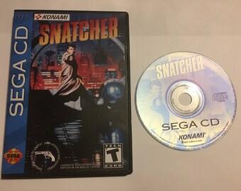 Sega CD Snatcher Reproduction