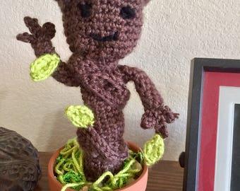 Crochet Baby Groot