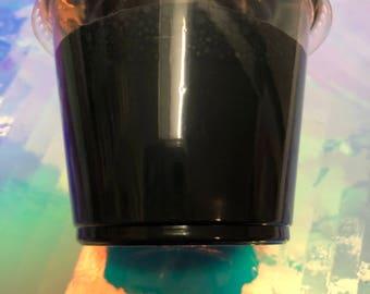 Black butter slime 5.5 oz