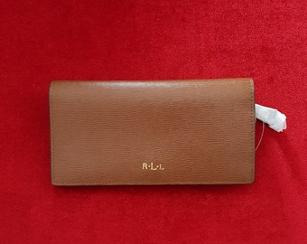 Polo Ralph Lauren women wallet brown