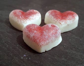 6 Decorative Strawberry Highly Scented Soy Wax Melts