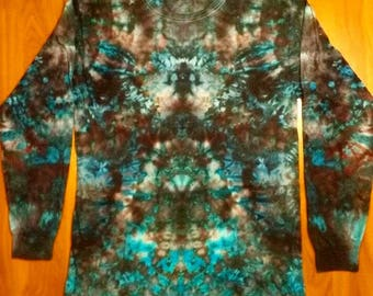 Electric koala tie dye long sleeve