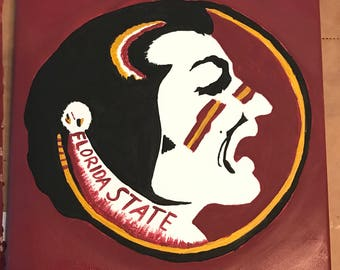 FSU Seminole painting