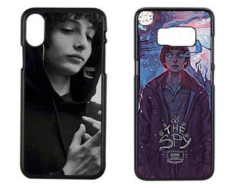Stranger Things Finn Wolfhard Iphone x Case, Finn Wolfhard Phone Case, Stranger Things Case, iPhone 8 Plus Case, Samsung Galaxy S8 Case