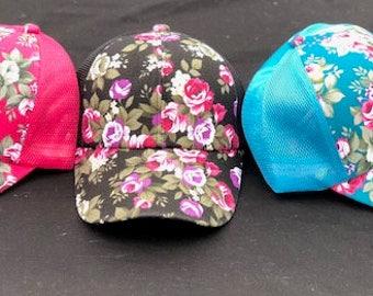 Custom Flowery Hat