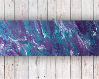 Acrylic Pour Large 120x40cm *Bewitched* Fluid Art