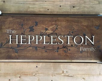 Custom - Heppleston Sign