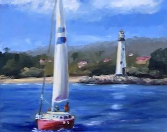 Sailboat in Scene
