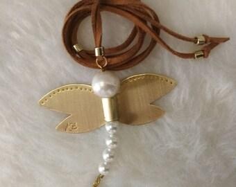 Adjustable Dragonfly Pendant