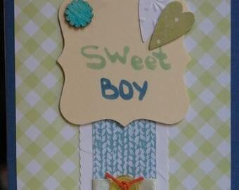 Sweet Boy Handmade Card