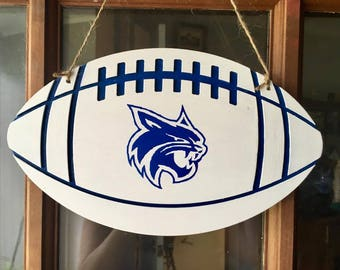 PCS Bobcat football door hanger