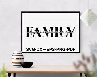 Family is life's greatest blessing SVG / Family SVG quote / Popular SVG