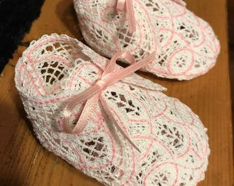 Decorative Baby Booties