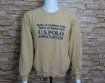US POLO association sweatshirt crewneck jumper medium size