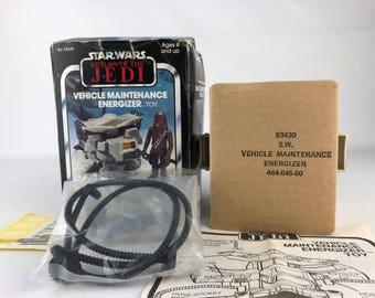 1982 Star Wars Return Of The Jedi Vehicle Maintenance Energizer Complete