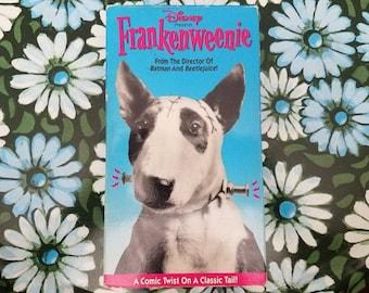 Tim Burton's Frankenweenie VHS 1984
