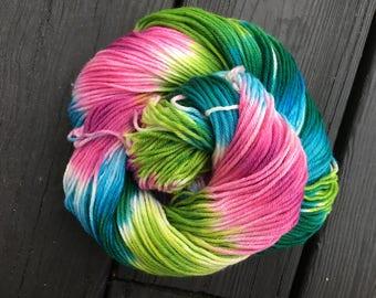 Rainforest - Super-Wash Merino & Nylon Hand-dyed DK Weight Yarn
