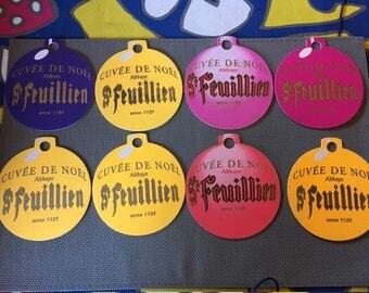 12 pieces St. Feuillien Beer Coasters