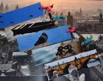 The Set of 5 Bookmarks - PRAGUE