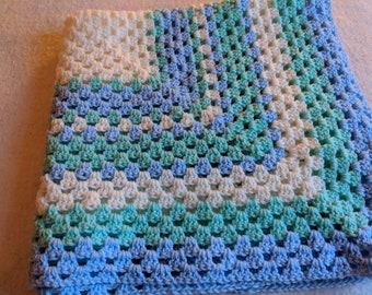 Granny Square Baby Blanket