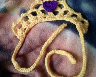 Crocheted Princess Tiara