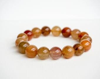 Beautiful Rutilated quartz bracelets