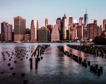 New York Sunrise Photo Print