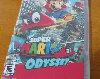Super Mario Odyssey Custom Case Nintendo Switch