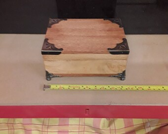 Cigar, smoking, trinkett box all solid hardwood