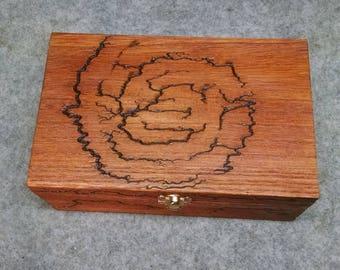 Spiral fractal box