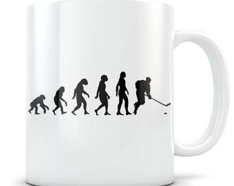 Hockey Mug, hockey gift, hockey gift idea, hockey gift for women, hockey gift for her, hockey player gift, womens hockey gift