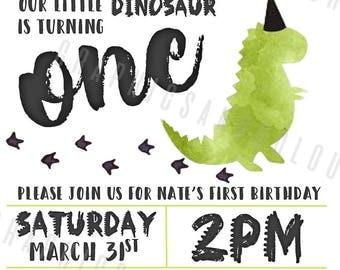 Dinosaur Party Invitationd